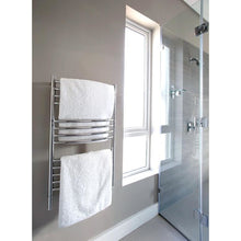 Load image into Gallery viewer, Amba C Curved 13 Bar Towel Warmer, Polished
