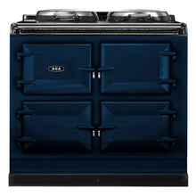 Load image into Gallery viewer, AGA Dual Control Cast Iron 3-Oven Dual Fuel Range DARK BLUE