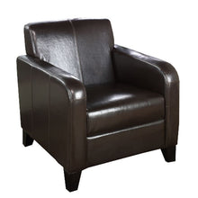 Load image into Gallery viewer, 1400 Brown Leather Club Chair
