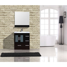 "Load image into Gallery viewer, Adornus Alva Espresso 30"" Single Bathroom Vanity with mirror"
