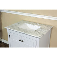 Load image into Gallery viewer, Bellaterra 29 In Single Sink Vanity Wood White Cabinet Only 7613-WH