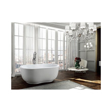 Load image into Gallery viewer, Brescia 65 inch Freestanding Bathtub in Glossy White