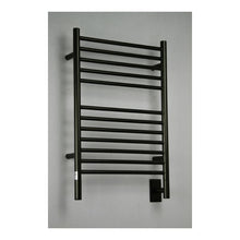 Load image into Gallery viewer, Amba E Straight 12 Bar Towel Warmer, Oil Rubbed Bronze