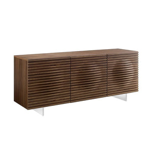 MOON Walnut Veneer Buffet by Casabianca Home