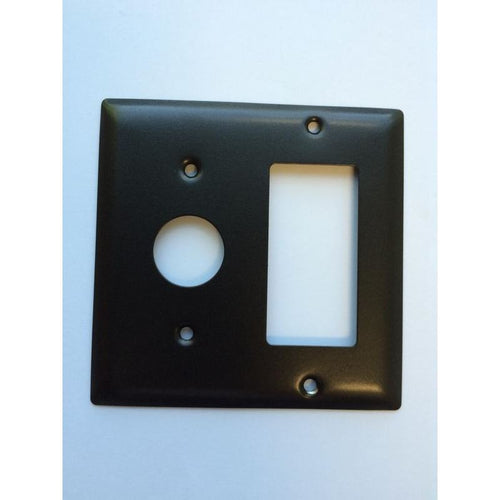 Amba Jeeves Double Gang Plate, Oil Rubbed Bronze