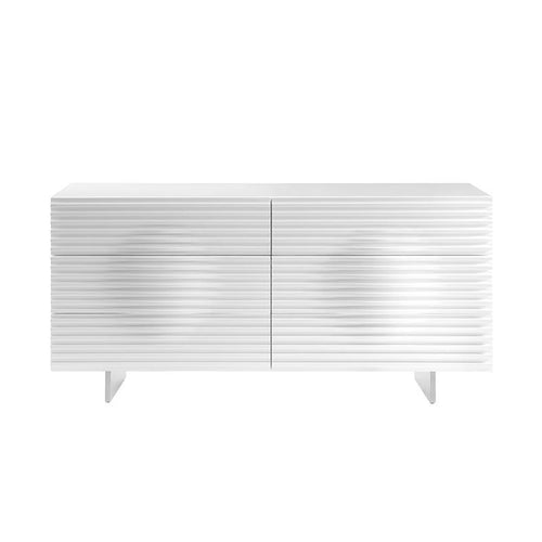 MOON High Gloss White Lacquer Dresser by Casabianca Home