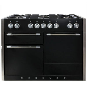 "48"" AGA Mercury Multiple Oven Dual Fuel Range MATTE BLACK"