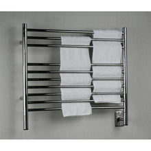 Load image into Gallery viewer, Amba K Straight 10 Bar Towel Warmer, Polished
