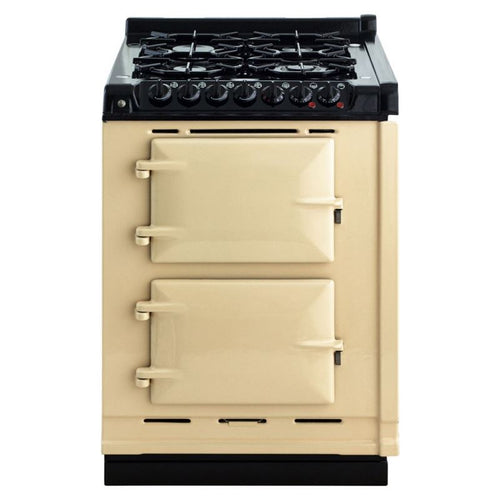 AGA Dual Fuel Module, Propane (LP) Gas Cooktop CREAM