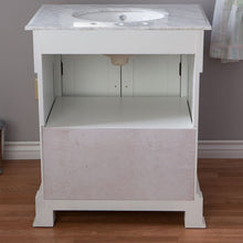 Load image into Gallery viewer, Bellaterra 36 In Single Sink Vanity Wood White