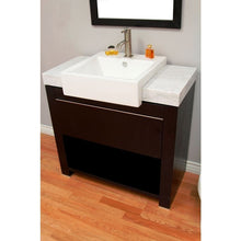 Load image into Gallery viewer, Bellaterra 36 In. Single Sink Vanity 804375A-36-BL