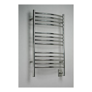 Amba C Curved 13 Bar Towel Warmer, Polished