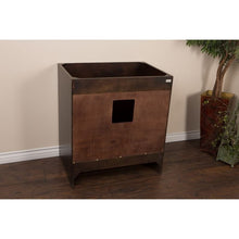 Load image into Gallery viewer, Bellaterra 32 In Single Sink Vanity Wood Sable Walnut Cabinet Only