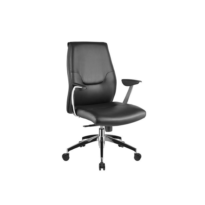 ARENA Black Arm Office Chair by Casabianca Home