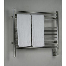 Load image into Gallery viewer, Amba K Straight 10 Bar Towel Warmer, Brushed