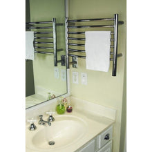 Load image into Gallery viewer, Amba H Curved 7 Bar Towel Warmer, Polished