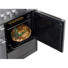 "Load image into Gallery viewer, 48"" AGA Mercury Multiple Oven Dual Fuel Range MATTE BLACK"