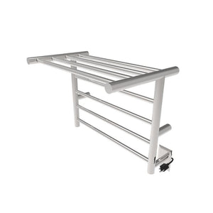 Amba Radiant Shelf 8 Bar Towel Warmer, Polished