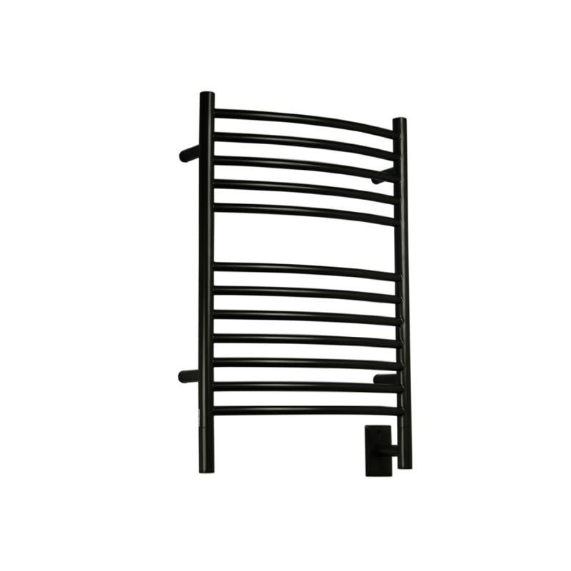Amba E Curved 12 Bar Towel Warmer, Oil Rubbed Bronze