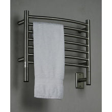 Load image into Gallery viewer, Amba H Curved 7 Bar Towel Warmer, Brushed