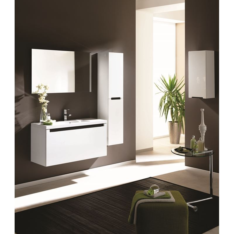 Adornus Serenity Vanity, High Gloss White, 40