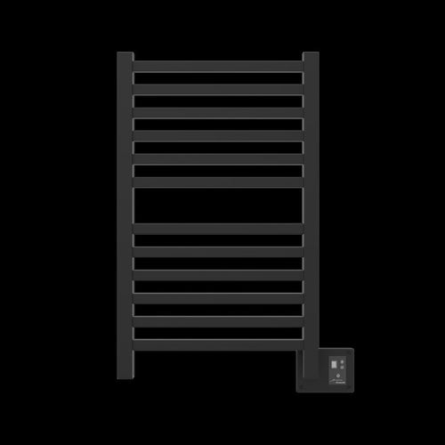 Amba Quadro Q-2033 12 Bar Towel Warmer, Matte Black