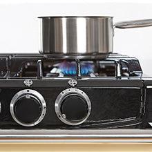 Load image into Gallery viewer, AGA City24 Dual Fuel Cast Iron Range with Gas Burners DUCK EGG BLUE