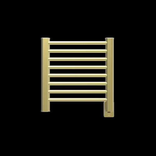 Amba Sirio S-2121 8 Bar Towel Warmer, Satin Brass