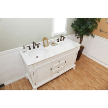 Load image into Gallery viewer, Bellaterra 60 In Double Sink Vanity Wood Espresso 205060-D-WH