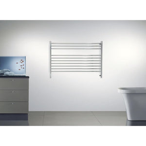 Amba K Straight 10 Bar Towel Warmer, Polished