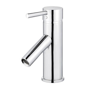 Malaga Single Handle Bathroom Vanity Faucet in Polished Chrome
