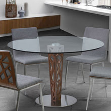 "Load image into Gallery viewer, Dylan 30"" Bar Height Barstool in Brushed Stainless Steel"