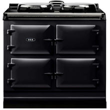 Load image into Gallery viewer, AGA Dual Control Cast Iron 3-Oven Electric Range PEWTER
