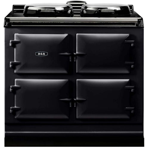AGA Dual Control Cast Iron 3-Oven Electric Range PEWTER