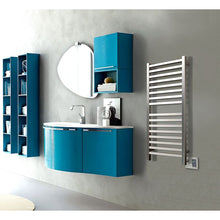 Load image into Gallery viewer, Amba Quadro Q-2042 16 Bar Towel Warmer, Brushed