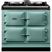 Load image into Gallery viewer, AGA Dual Control Cast Iron 3-Oven Electric Range PISTACHIO