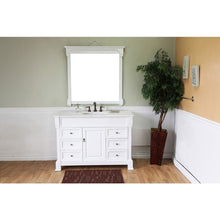 Load image into Gallery viewer, Bellaterra 50 In Single Sink Vanity Wood White