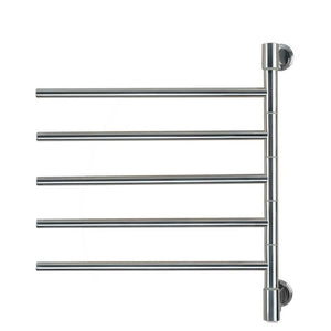 Amba Jack D005 5 Bar Towel Warmer, Brushed