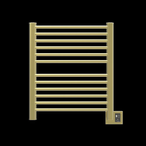 Amba Sirio S-2933 12 Bar Towel Warmer, Satin Brass