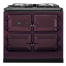 Load image into Gallery viewer, AGA Dual Control Cast Iron 3-Oven Dual Fuel Range AUBERGINE