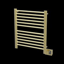 Load image into Gallery viewer, Amba Sirio S-2933 12 Bar Towel Warmer, Satin Brass