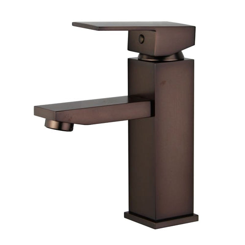 Granada Single Handle Bathroom Vanity Faucet in Oil Rubbed Bronze