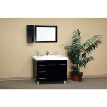Load image into Gallery viewer, Bellaterra 39 In Single Sink Vanity Wood Black  Left Side Drawers