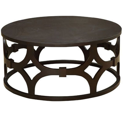 Tuxedo Round Coffee Table