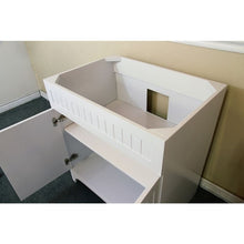 Load image into Gallery viewer, Bellaterra 32 In Single Sink Vanity Wood White Cabinet Only