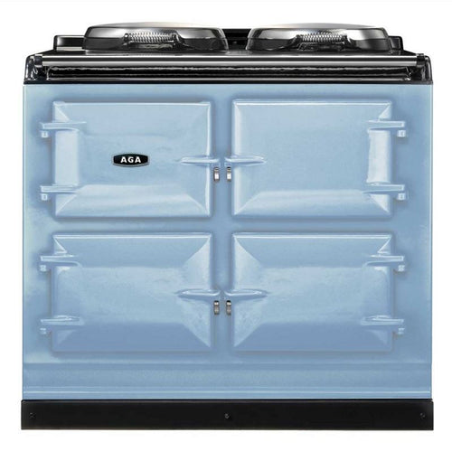 AGA Total Control Cast Iron 3-Oven Electric Range DUCK EGG BLUE