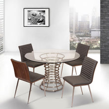 Load image into Gallery viewer, Armen Living Cafe Contemporary Dining Chair in Gray