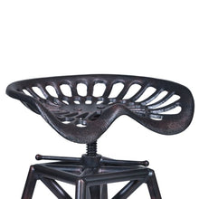 Load image into Gallery viewer, Osbourne Adjustable Barstool in Industrial Copper Metal finish