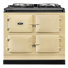 Load image into Gallery viewer, AGA Dual Control Cast Iron 3-Oven Dual Fuel Range CREAM