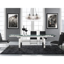 Load image into Gallery viewer, CLOUD Stainless Steel Extendable Dining Table by Casabianca Home